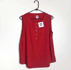 Anne Klein new with tags blouse.